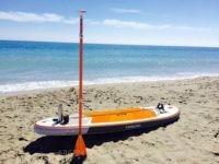 Padelsurf en las playas de Fuengirola